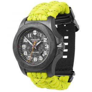 Relógio Victorinox Swiss Army Masculino Paracord Amarelo Neon – 241858.1