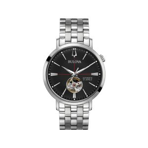 BULOVA CX PUL ACO MOST PRETO