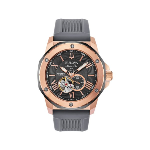 Relógio Bulova Marine Star Automatico 98A228