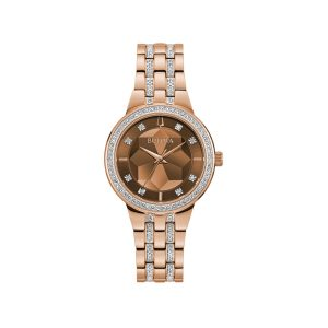 Relógio Bulova Ladies Crystal 98L266