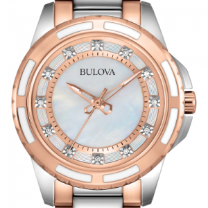 Relógio Bulova Diamonds classic Collection 98P134
