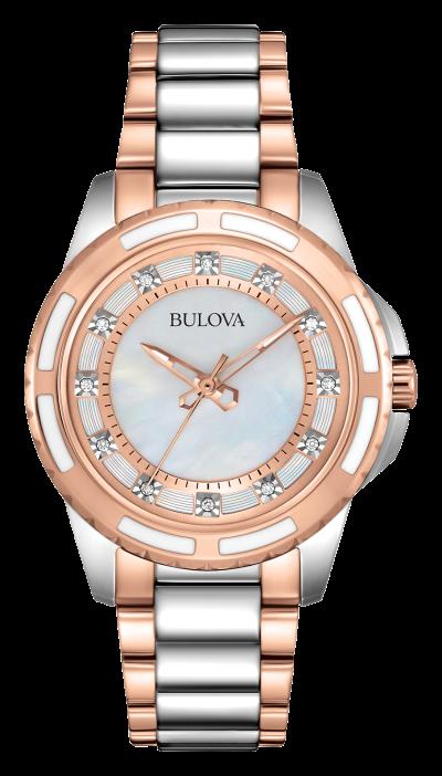 Relógio Bulova Dimond classic Collection 98P134