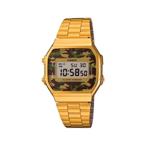 Relógio Casio Vintage Digital A168WEGC-3DF