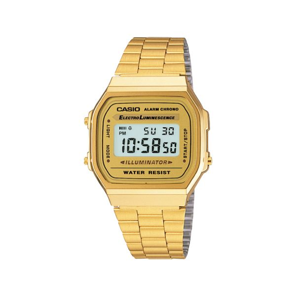 Relógio Casio Vintage Digital A168WG-9WDF