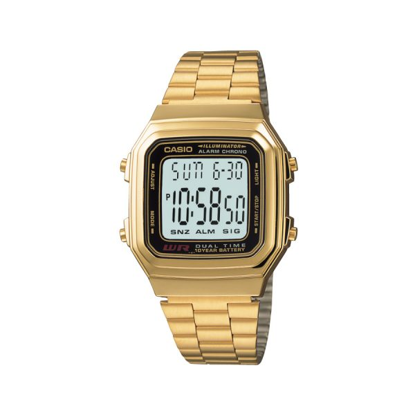Relógio Casio Vintage Digital A178WGA-1AVDF