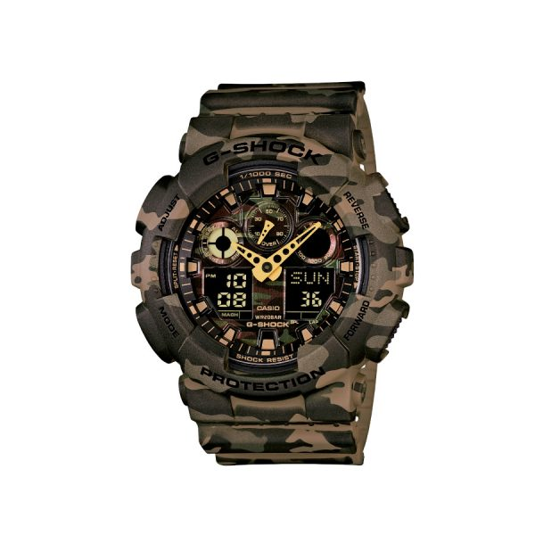 Relógio Casio G-Shock Digital GA-100CM-5ADR