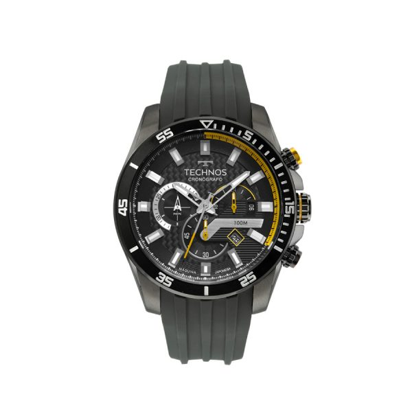 Relógio Technos Masculino Carbon JS25CN2P